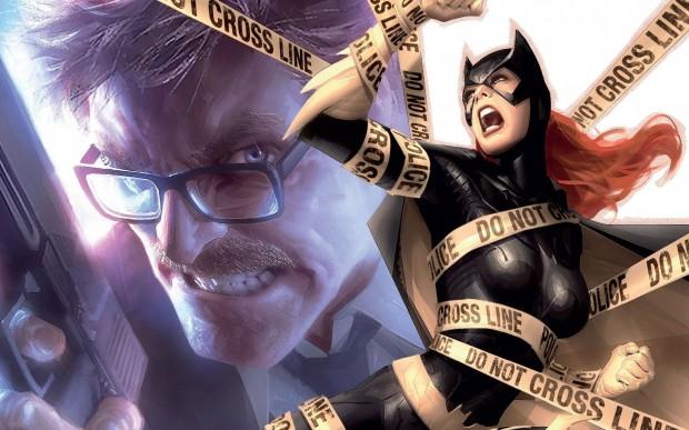 Comissário Gordon e Batgirl (imagem: divulgação/DC Comics)