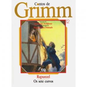 Capa do livro 12 - série Contos de Grimm
