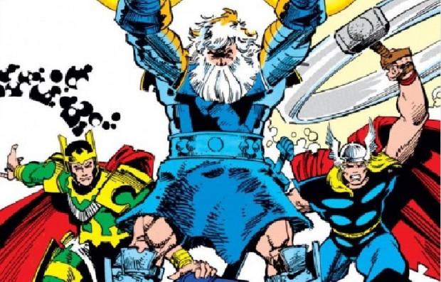 Loki, Odin e Thor (imagem: divulgação/Marvel.com)