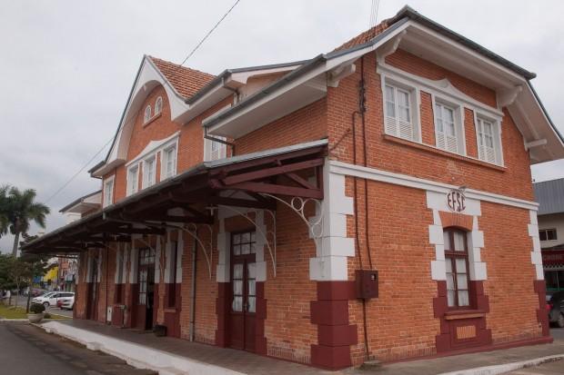 Antiga Estação Ferroviária (foto: divulgação/Governo do Estado de Santa Catarina)