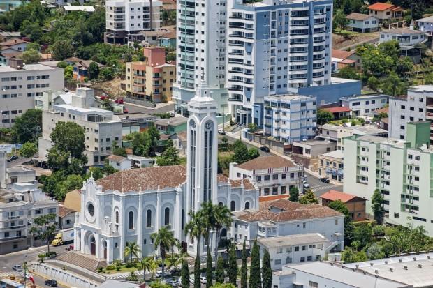 Catedral Santa Terezinha (foto: divulgação/Governo do Estado de Santa Catarina)