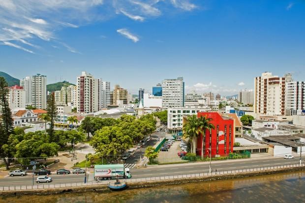 Centro de Itajaí (foto: divulgação/Governo do Estado de Santa Catarina)