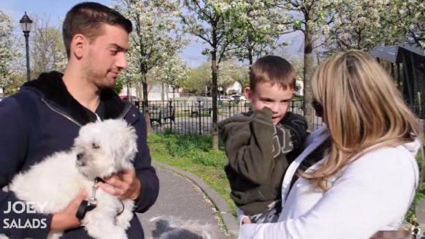 Vídeo alerta: é fácil sequestrar uma criança