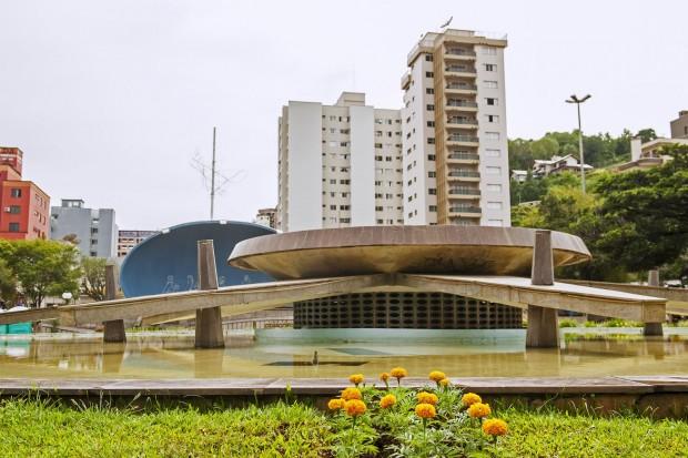 Praça Dogello Goss (foto: divulgação/Governo do Estado de Santa Catarina)