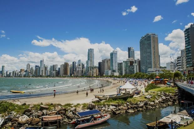 Praia Central (foto: divulgação/Governo do Estado de Santa Catarina)