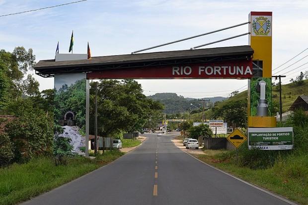 Pórtico (divulgação/Prefeitura de Rio Fortuna)