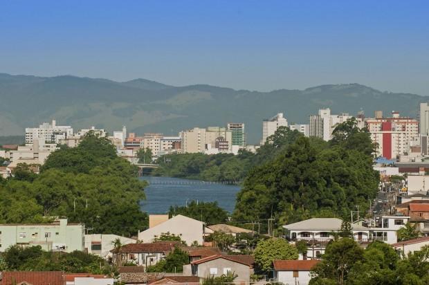 Margens do Rio Tubarão (foto: divulgação/Governo do Estado de Santa Catarina)