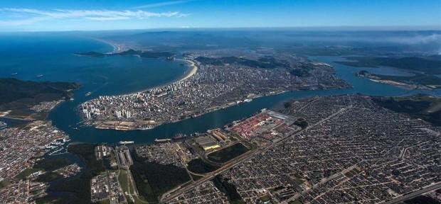 Porto de Santos. Foto: divulgação/Secretaria de Portos
