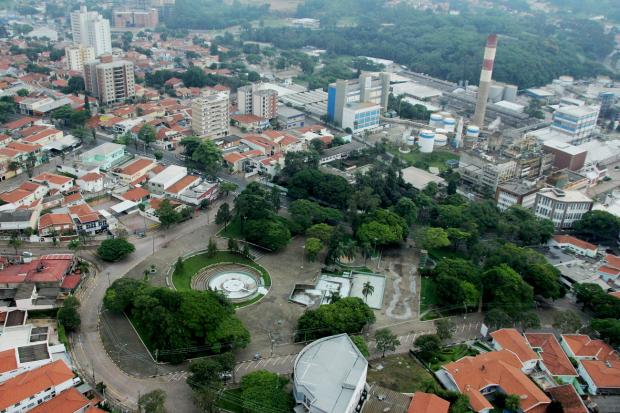 Praça Washington Luiz. (Foto: divulgação)