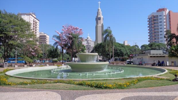 Praça Nove de Julho. (Foto: Wikimedia Commons)
