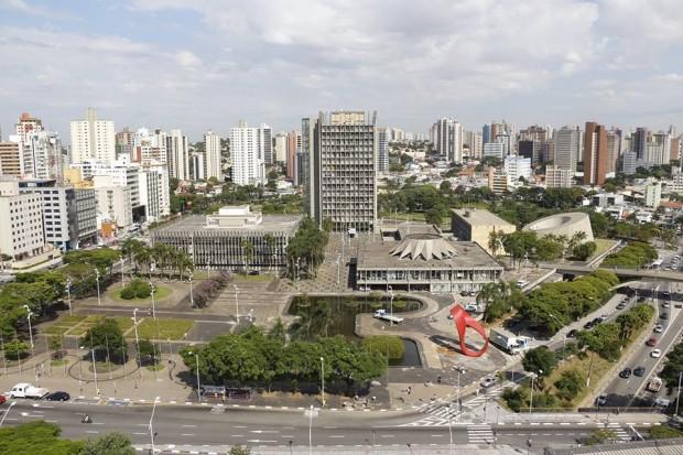 Praça IV Centenário. (Foto: divulgação/Prefeitura de Santo André)