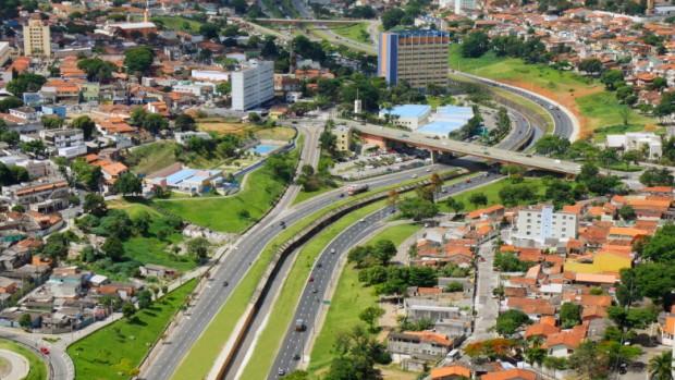 Avenida Teotônio Vilela. (Foto: divulgação/Prefeitura de São José dos Campos)
