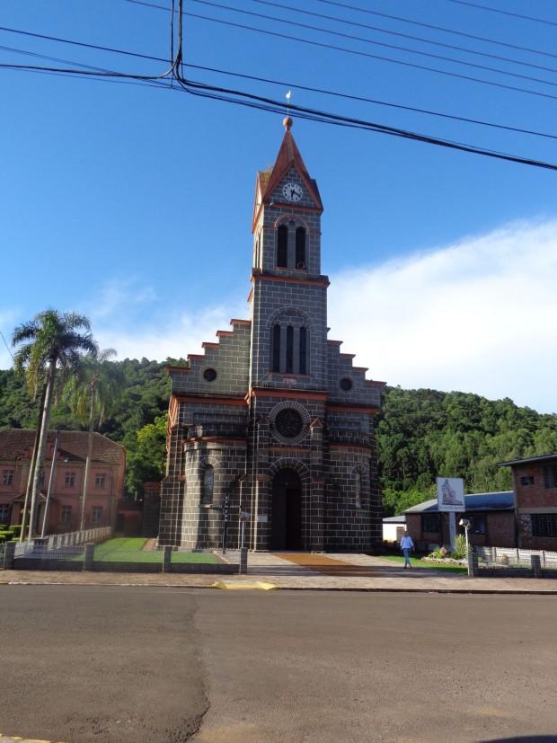 Igreja Matriz de Três Arroios. Crédito: Wikimedia Commons.