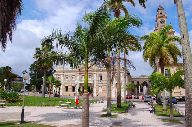 Praça dos Três Poderes em João Pessoa. Crédito: Wikimedia Commons