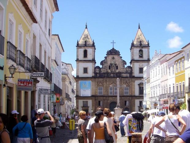 Centro histórico de Salvador. Crédito: Wikimedia Commons