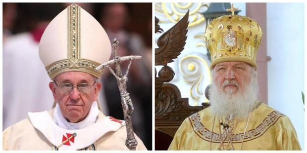 Pela primeira vez em séculos, papa e patriarca russo vão se encontrar