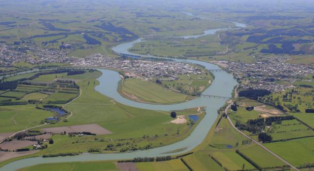 Vista aérea do distrito de Clutha. (foto: divulgação)