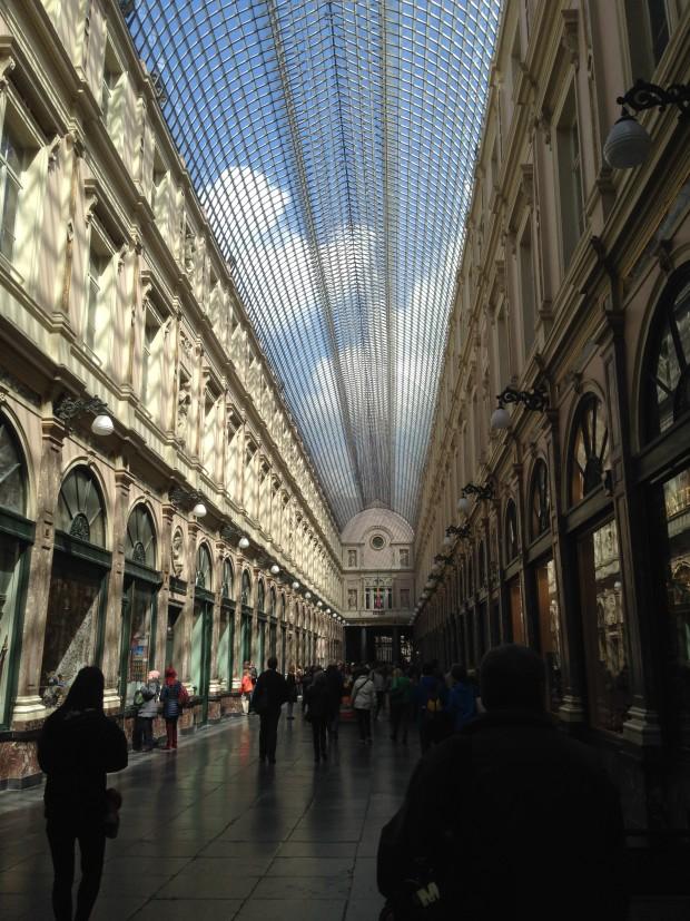 Crédito: Arquivo Pessoal -Galeries Royales Saint-Hubert