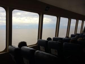 Crédito: Arquivo Pessoal - Barco que atravessa o Rio da Plata (Argentina/Uruguai)