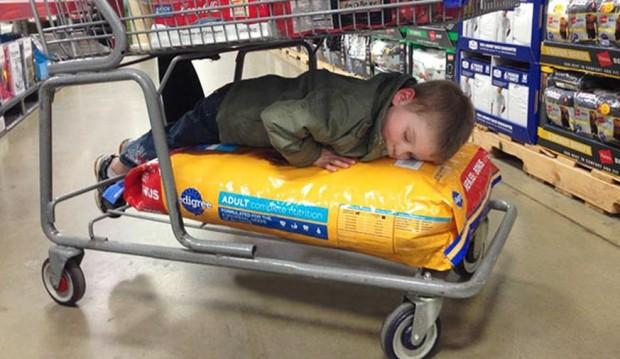 20 fotos que provam como crianças são capazes de dormir em qualquer lugar