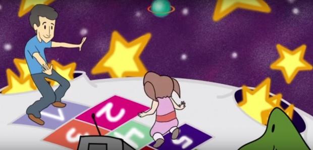 Pai impedido de ver a filha produz desenho animado sobre alienação parental