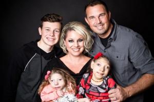 Retrato da família de Gwen (arquivo pessoal).