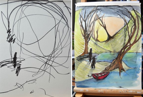 artist-turns-childrens-drawings-into-paintings-11