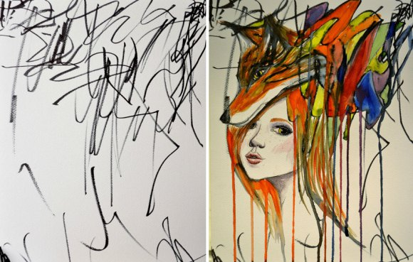 artist-turns-childrens-drawings-into-paintings-31 (1)