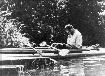 Karol Wojtyla, o papa João Paulo II, quando era um jovem padre.