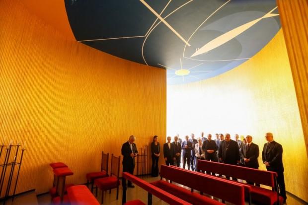 Capela do Palácio da Alvorada (foto: Beto Barata/Presidência da República).