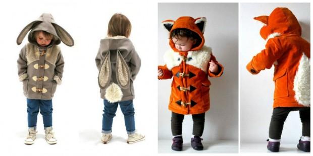 Mães se unem e criam linha de casacos que deixam crianças parecendo bichinhos fofos