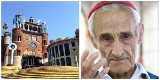 Conheça o ex-monge de 91 anos que está construindo uma catedral sozinho