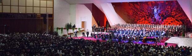 Na edição de 2015, os convidados foram presidiários (foto: L'Osservatore Romano).
