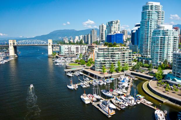 Baía de Vancouver, Canadá. (foto: Bigstock)