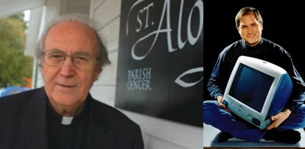Steve Jobs participou das aulas de caligrafia do padre - e disse que elas influenciaram decisivamente o design da Apple.