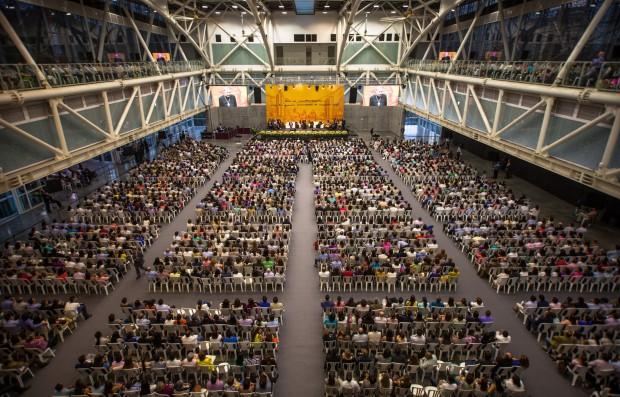 Echevarría em encontro com membros do Opus Dei. Foto: Divulgação/Opus Dei