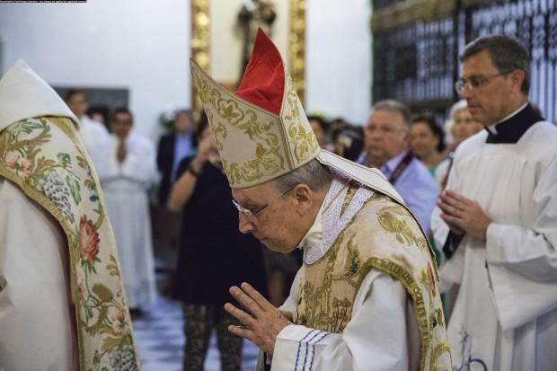 Echevarría em celebração em 2016. Foto: Divulgação/Opus Dei