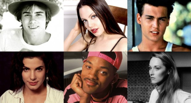 Confira como estes 15 atores famosos eram quando jovens