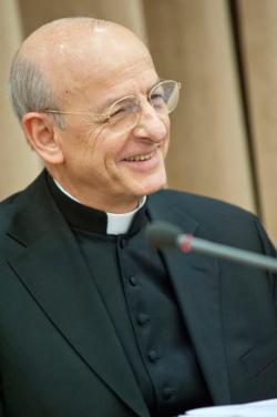Fernando Ocáriz, vigário auxiliar do Opus Dei, deve convocar o congresso eletivo em janeiro. Foto: Divulgação/Opus Dei