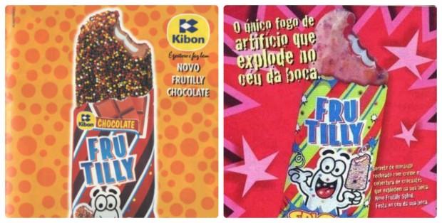 Os picolés Frutilly, da década de 90, e suas inovações