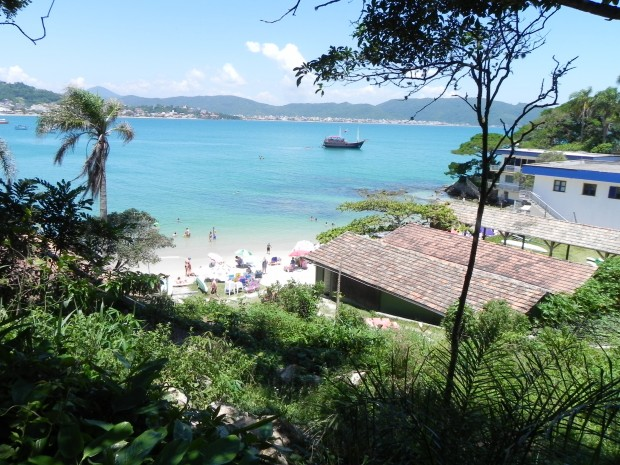 Arquivo Pessoal -Praia da Lagoinha - Bombinhas/SC