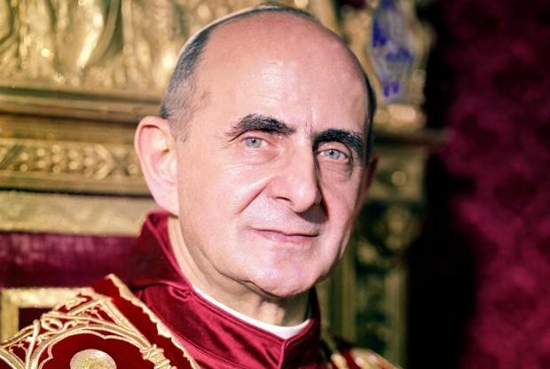 Paulo VI foi papa de 1963 a 1978 e foi beatificado em 2014.