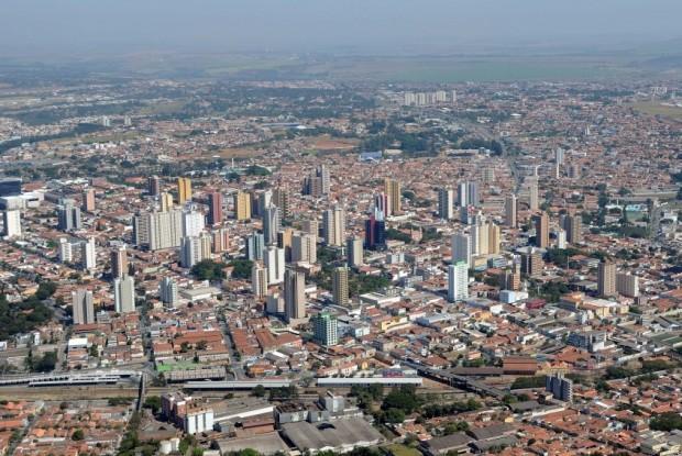 Vista aérea da cidade. (foto: divulgação/Prefeitura de Limeira).