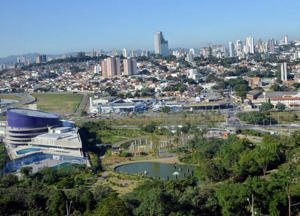 Jundiaí vista de cima (foto: divulgação/Prefeitura Municipal de Jundiaí).
