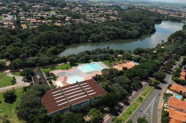 Balneário da Lagoa do Taquaral, Campinas (foto: divulgação/Prefeitura Municipal de Campinas).