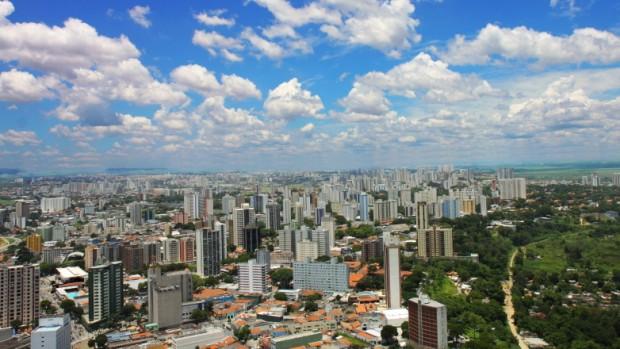 Vista aérea de São José dos Campos (foto: divulgação/Prefeitura de São José dos Campos).