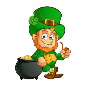 Leprechaun, o personagem que enfeita festas de St. Patrick's Day.