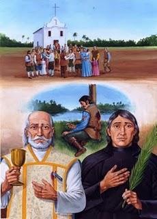 André de Soveral, Mateus Moreira e Ambrósio Ferro, três dos 30 mártires do RN.