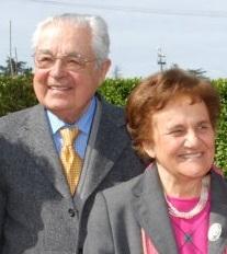 Em 2012, foi a vez dos esposos Danilo e Anna Maria Zanzucchi.