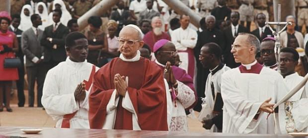 O Beato Paulo VI em visita a Uganda.